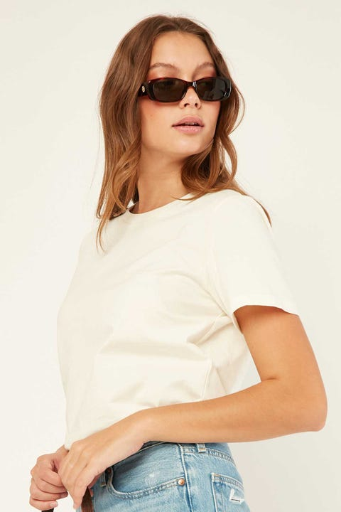L&T Regular T-Shirt Cream