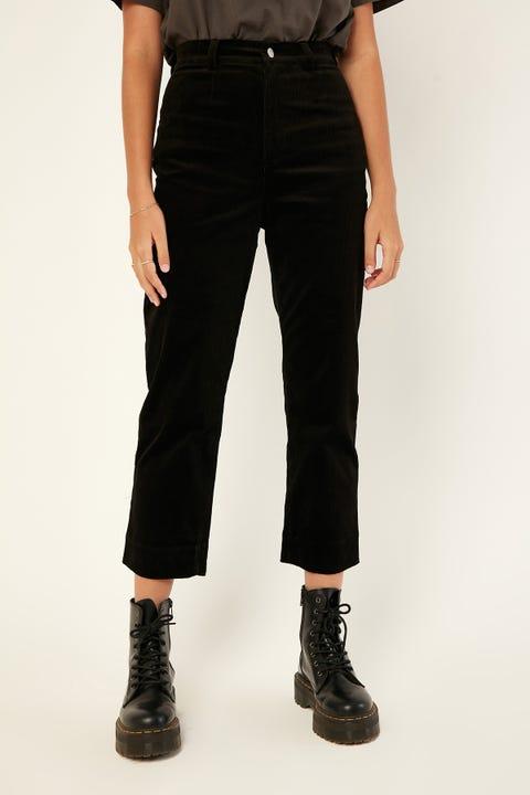 Luck & Trouble Amara Cord Pant Black