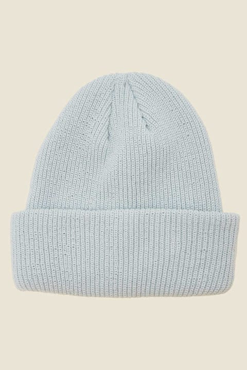 TOKEN Dewy Ribbed Beanie Blue