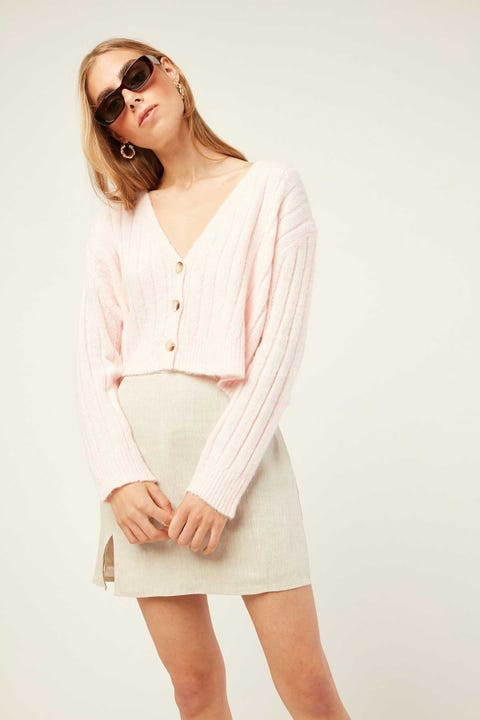 PERFECT STRANGER Lula Skirt Oatmeal