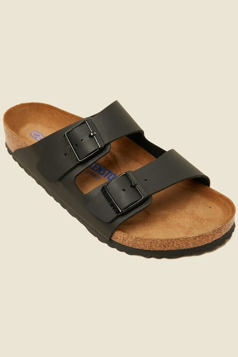 BIRKENSTOCK Mens Arizona BF SFB Black