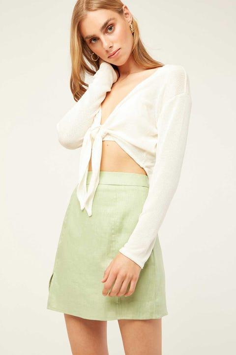 PERFECT STRANGER Lula Skirt Green