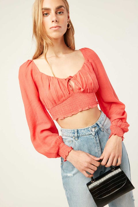 LUCK & TROUBLE It Girl Top Pink