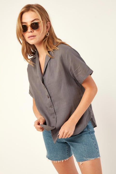 Perfect Stranger Easy Days Shirt Charcoal