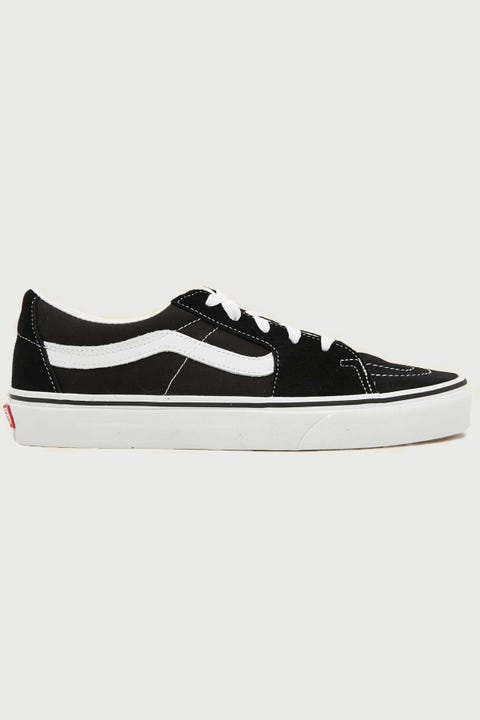 Vans SK8-Low Black/True White