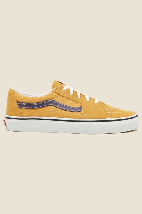 Vans Mens SK8-Low Honey Gold/Purple Velvet