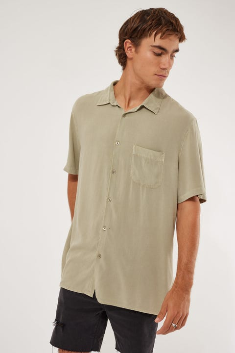 Common Need Pivot Party Shirt Sage