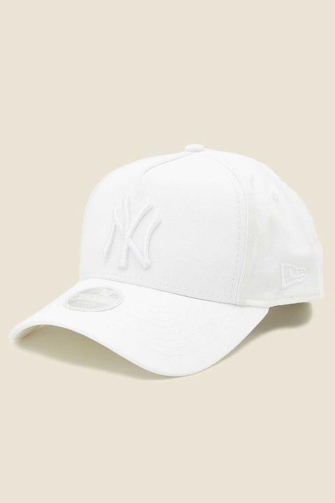 NEW ERA 9-Forty A-Frame NY Yankees White Tonal