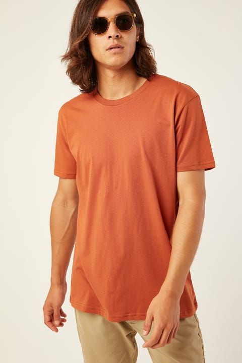 AS COLOUR Staple Tee Copper