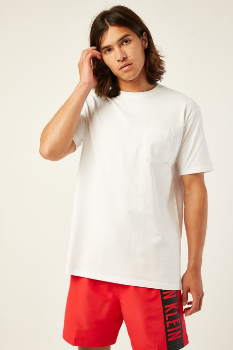 AS COLOUR Classic Pocket Tee White