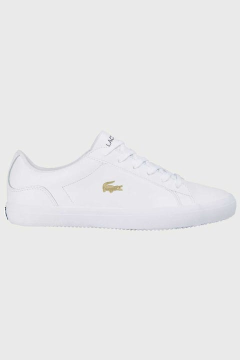 Lacoste Womens Lerond 0120 2 CFA White/Gold