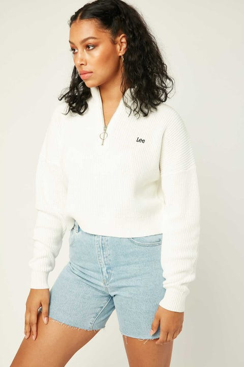 Lee Ring Pull Knit Milk