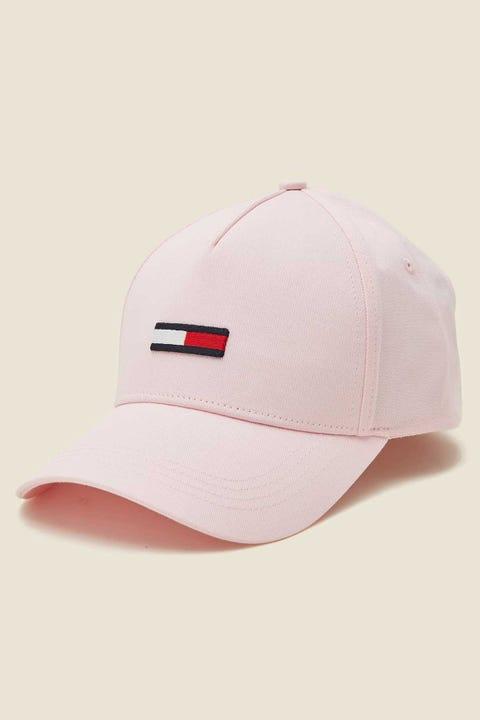 Tommy Jeans TJW Flag Cap Romantic Pink Romantic Pink