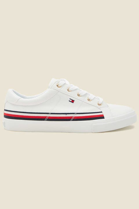 Tommy Jeans RWB Tape Around Sneaker White