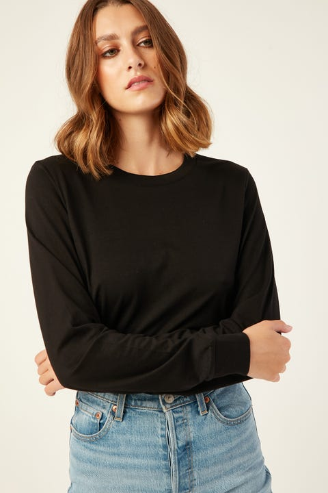 As Colour Dice Long Sleeve Tee Black