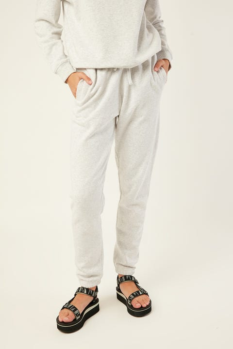 AS COLOUR Surplus Track Pant White Marle