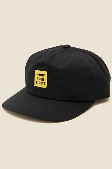 BRIXTON x Strummer Know Your Rights LP Snapback Black
