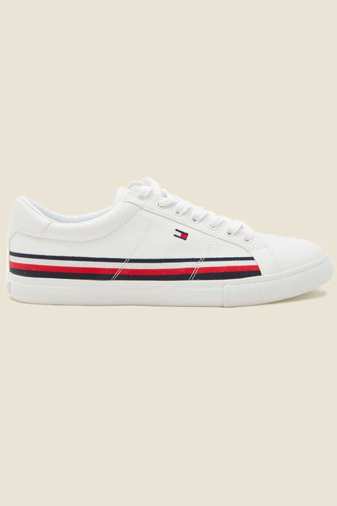 Tommy Jeans RWB Tape Around Sneaker White