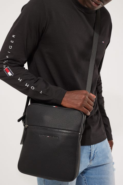 Tommy Jeans Essential Reporter Black