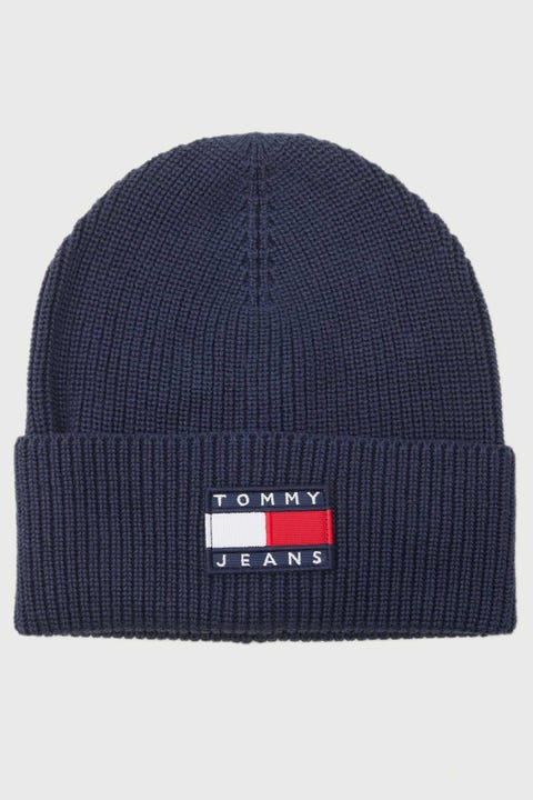 Tommy Jeans Heritage Beanie Twilight Navy