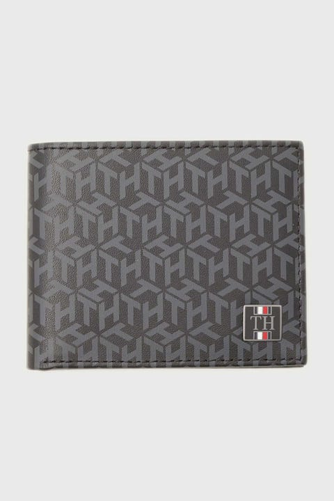 Tommy Jeans Monogram Mini CC Wallet Black