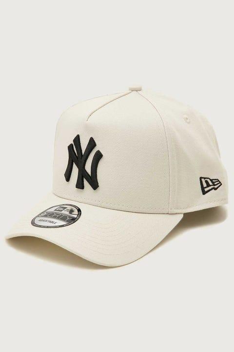 New Era 9Forty A-Frame NY Yankees Snapback Stone/Black