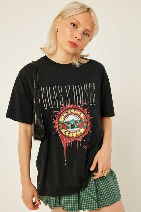 Bravado Guns N' Roses Tee Washed Black
