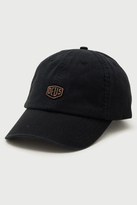 Deus Ex Machina Shield Standard Dad Cap Black