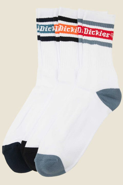 DICKIES Madison Heights Sock 3 Pack Assorted