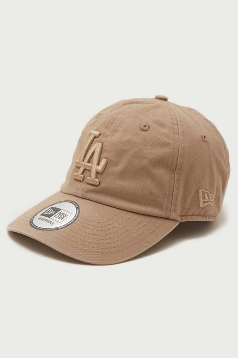 New Era Casual Classic LA Dodgers Washed Camel