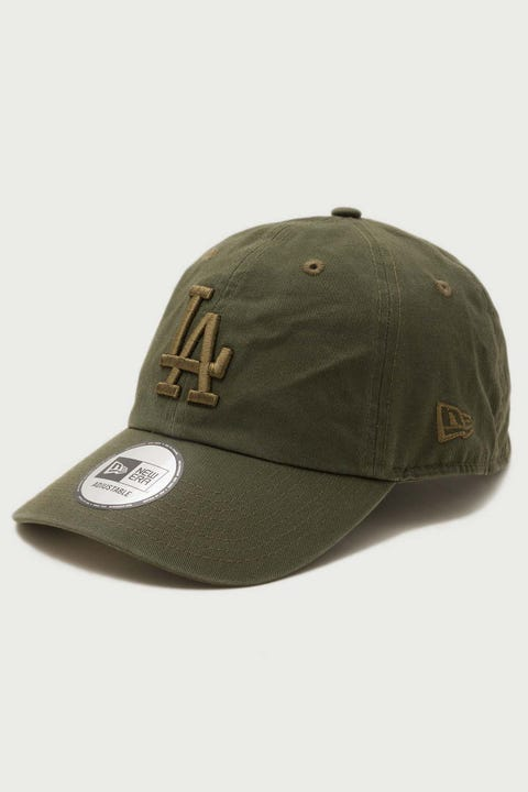 New Era Casual Classic LA Dodgers Washed Olive