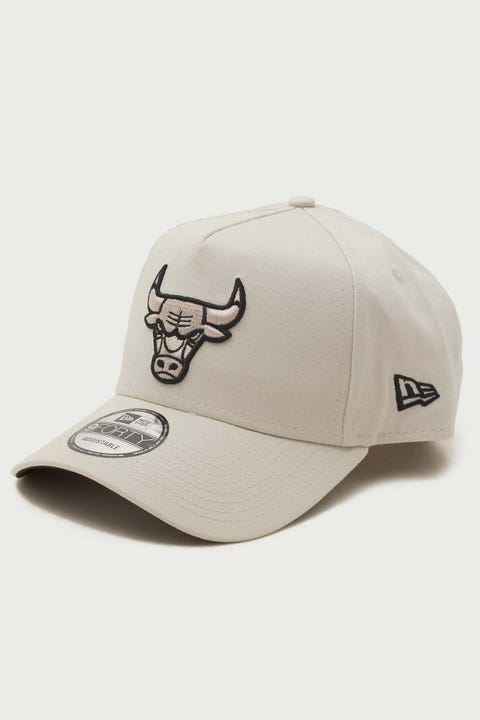 New Era 9Forty A-Frame Chicago Bulls Snapback Stone/Black