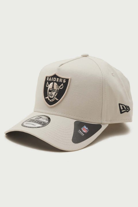 New Era 9Forty A-Frame Oakland Raiders Snapback Stone/Black