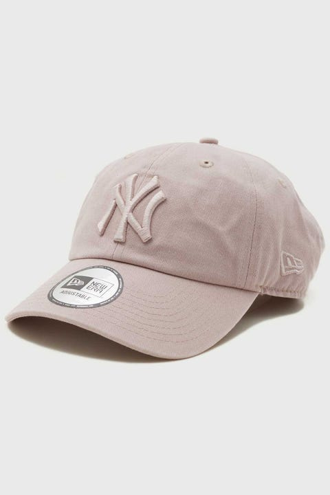 New Era Casual Classic NY Yankees Washed Stone Rose