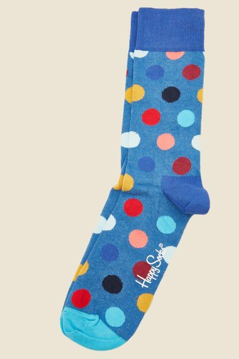 HAPPY SOCKS Big Dot Sock Blue/Multi