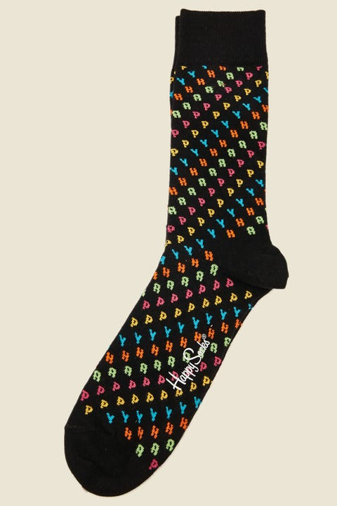 Happy Socks Happy Sock Black/Multi