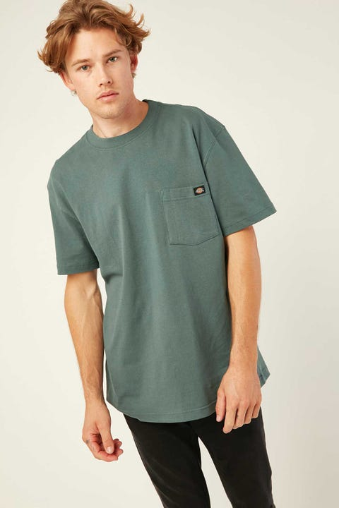 DICKIES Box Classic Fit S/S Tee Lincoln Green
