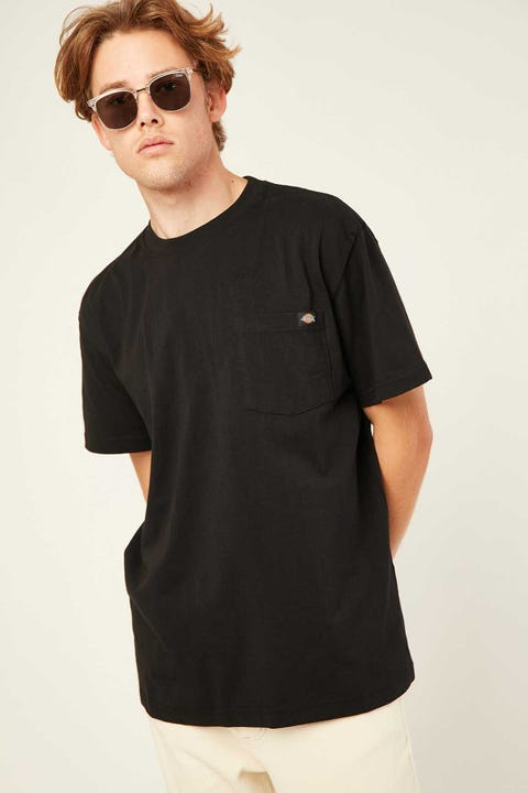 DICKIES Box Classic Fit S/S Tee Black