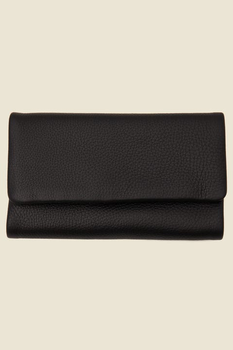 STATUS ANXIETY Audrey Wallet Pebble Black Pebble Black