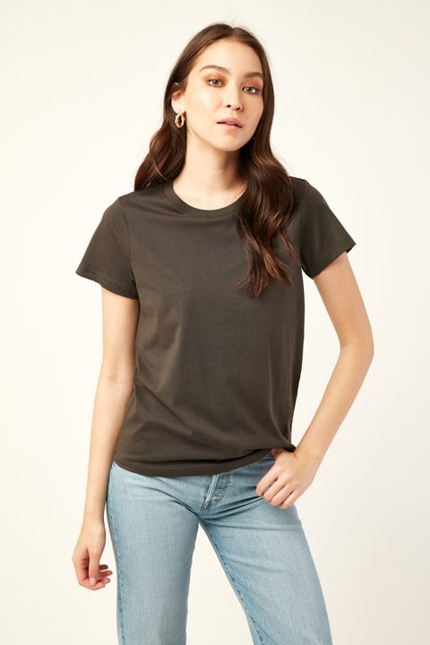 AS Colour Maple Tee Coal