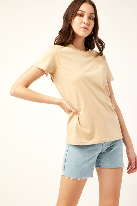 AS COLOUR Maple Tee Tan