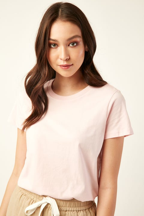 AS COLOUR Maple Tee Pink