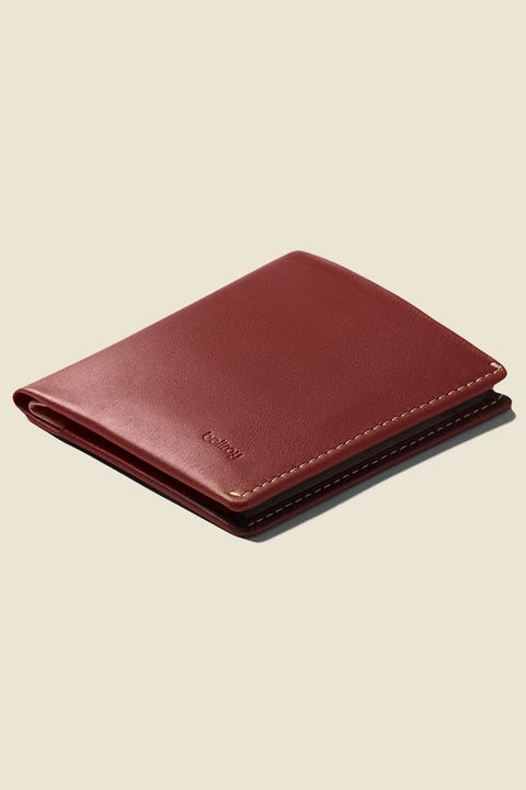 BELLROY Note Sleeve Red Earth