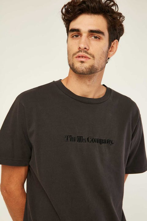 THRILLS Tonal Thrills Company Merch Fit Tee Heritage Black