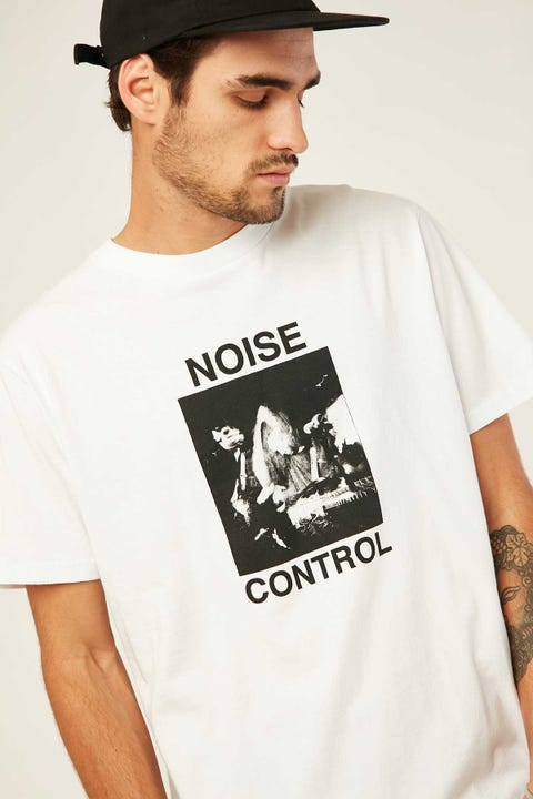 THRILLS Noise Control Merch Fit Tee White