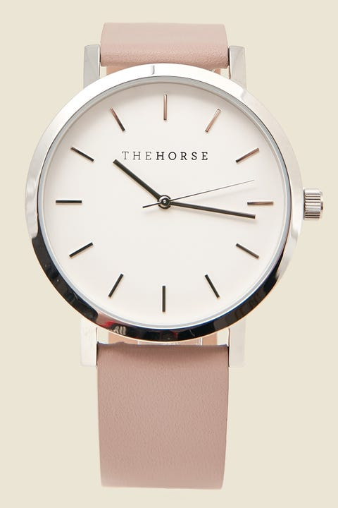 The Horse Original Watch Polished Silver/Blush Polished Silver/Blush