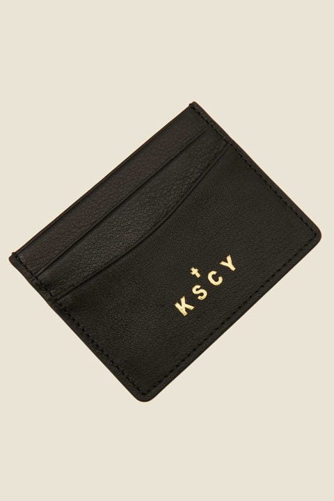 Kiss Chacey Billie Leather Card Holder Black