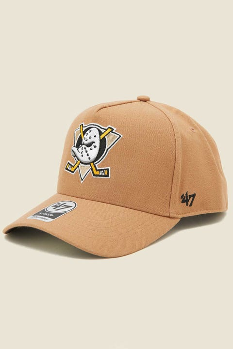 47 Brand MVP DT Snapback Anaheim Ducks Camel