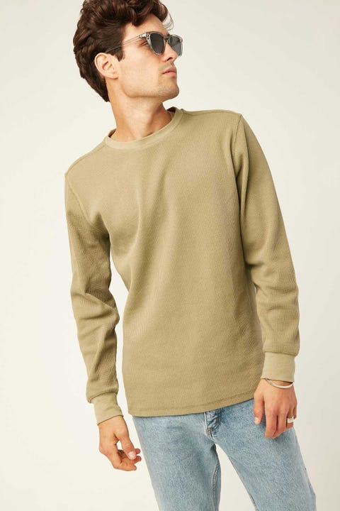 Common Need Comfort Longsleeve Tee Sage