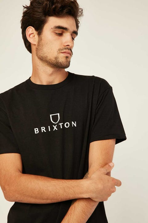 BRIXTON Alpha Standard Tee Black